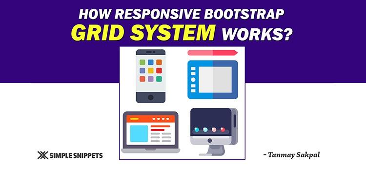 responsive grid system bootstrap framework