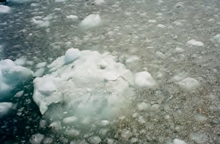 LARGE ICE CHUNKS