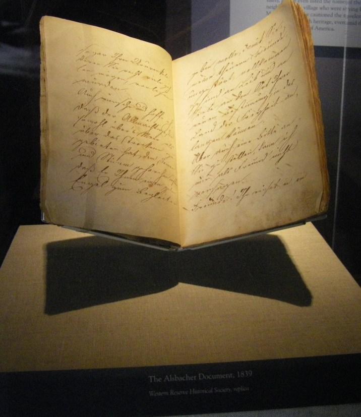 Alsbacher Document