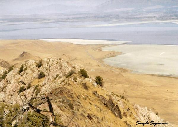 VIEW OF GREAT SALT LAKE