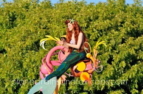 Disneyland Parade The Little Mermaid - Simple Sojourns