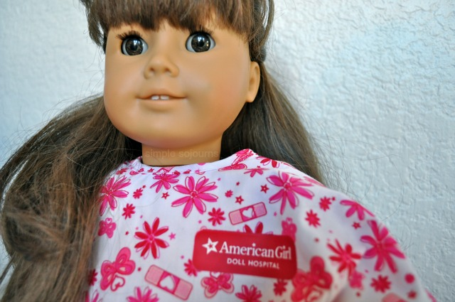 American Girl Doll Hospital - Simple Sojourns