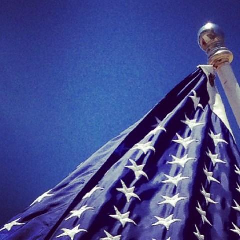 Day 2 - The 'blue' of the flag. Instagram Amaro filter #improudtobeanamerican #starsandstripes #goodsky #fmsphotoaday