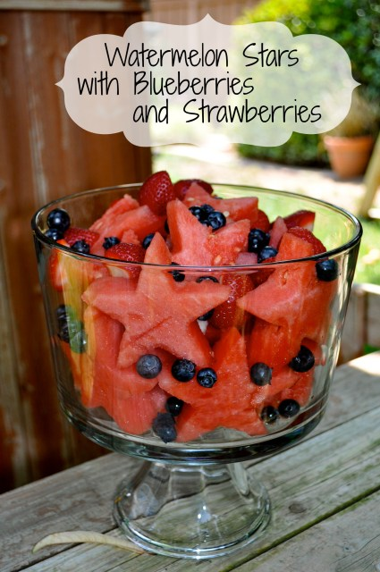 Watermelon Stars and Berries - Simple Sojourns