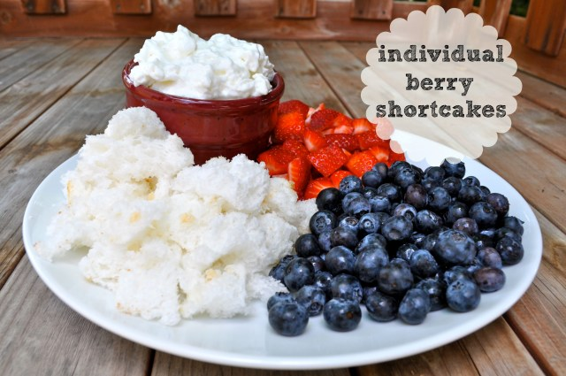 Individual Patriotic Berry Shortcake - Simple Sojourns