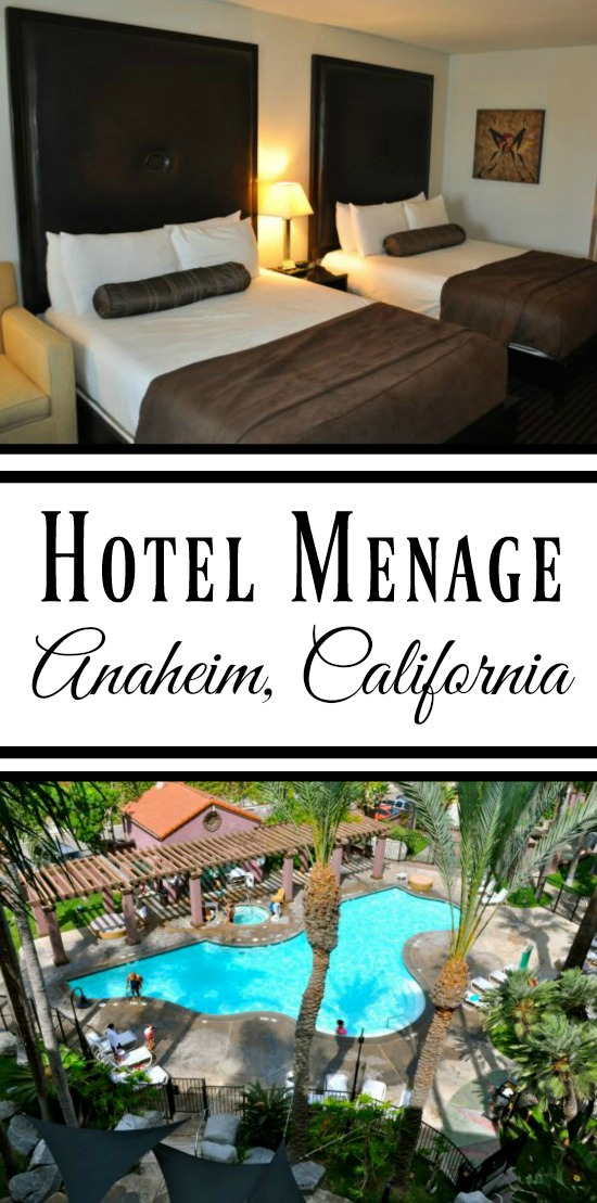 Hotel Menage - Anaheim California - Simple Sojourns