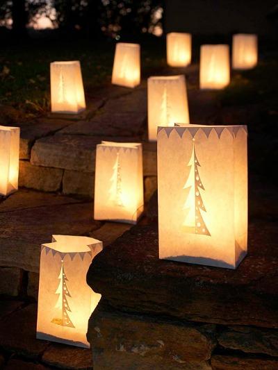 Christmas Luminarias