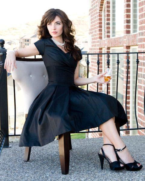 Juniper Modest Occasion Dress Abigail Wright Designs
