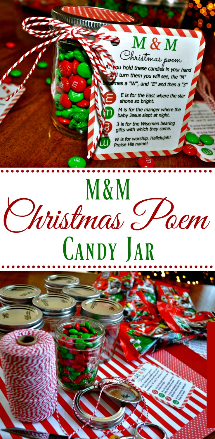 mm christmas poem candy jar tutorial simple sojourns