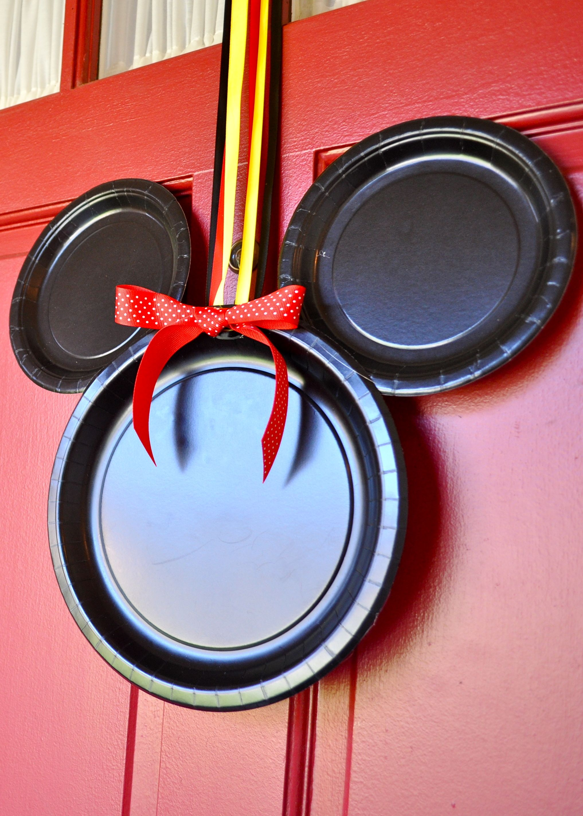 Mickey Mouse Door Decorations - Simple Sojourns
