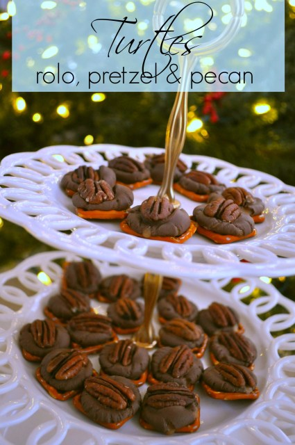 Pretzel Rolo Turtles | Simple Sojourns