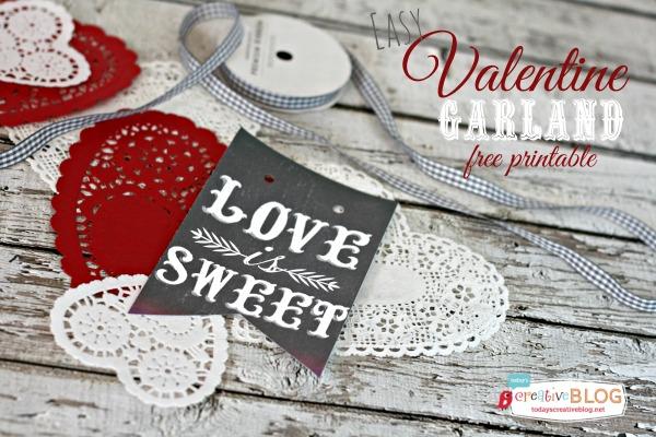 DIY-Valentine-Garland