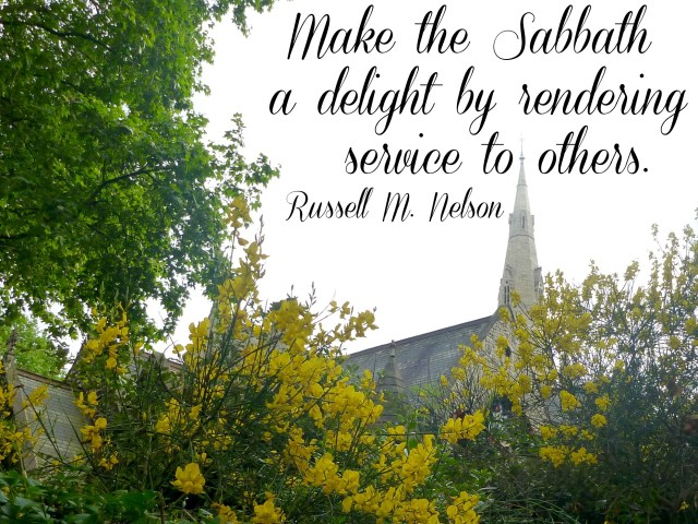 Make the Sabbath a Delight - Simple Sojourns