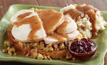 Marie Callender's Open Faced Hot Turkey Sandwich