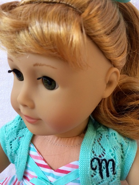 American Girl Maryellen Face - Simple Sojourns
