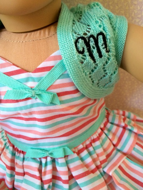 American Girl Maryellen Monogramed Sweater - Simple Sojourns