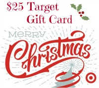 $25 Target Christmas Gift Card Button - Simple Sojourns