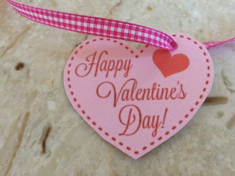 Valentine Printable Tag - Simple Sojourns