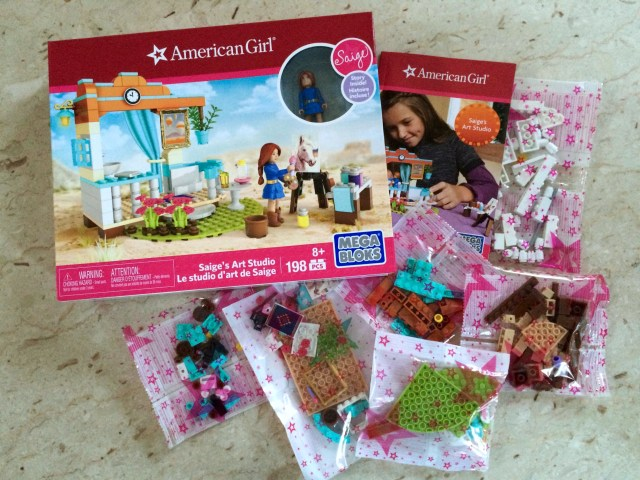 American Girl Mega Bloks - Simple Sojourns