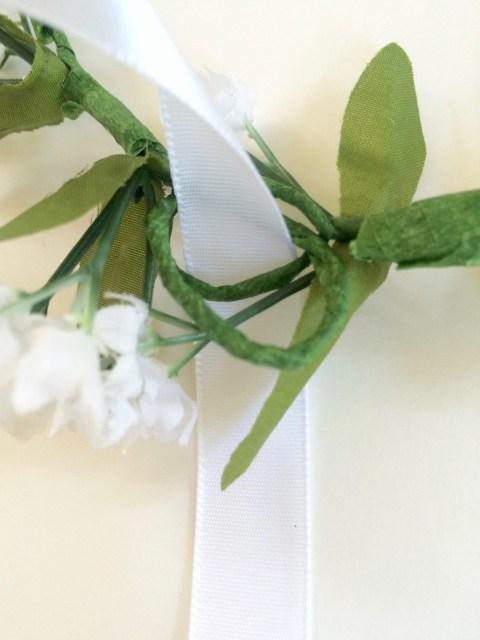 Flower Crown Ribbon Loops - Simple Sojourns