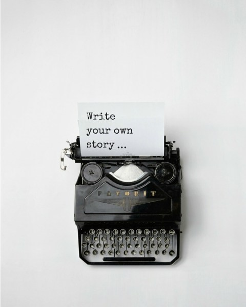 Write your own story - Simple Sojourns