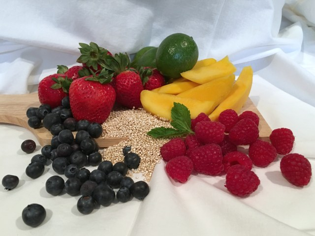 Agave Lime Quinoa Fruit Salad Ingredients - Simple Sojourns.jpg