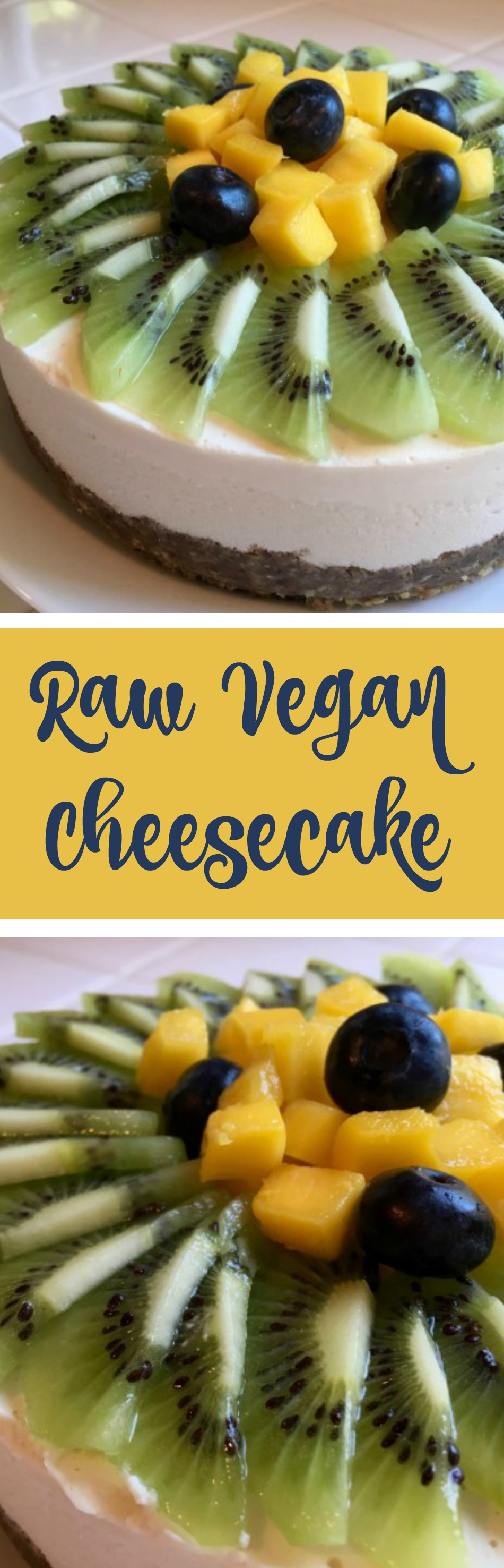 Raw Vegan Cheesecake - Simple Sojourns