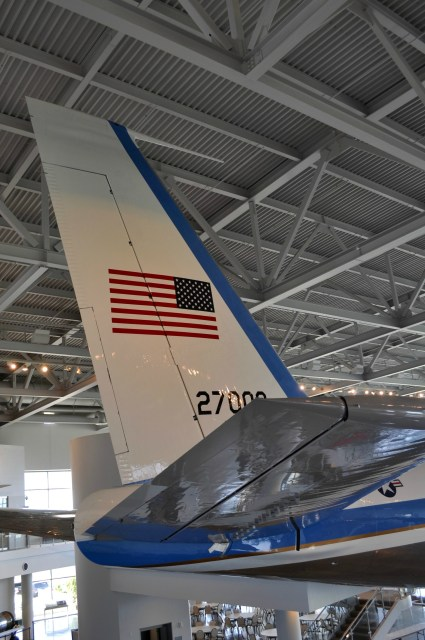 Ronald Reagan Library Air Force One Tail - Simple Sojourns