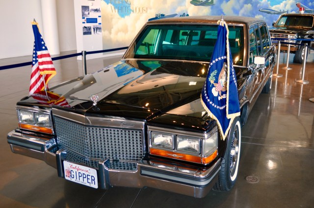 Ronald Reagan Library Gipper Limousine - Simple Sojourns