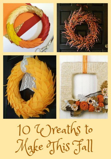 10 Wreaths to Make This Fall - Simple Sojourns