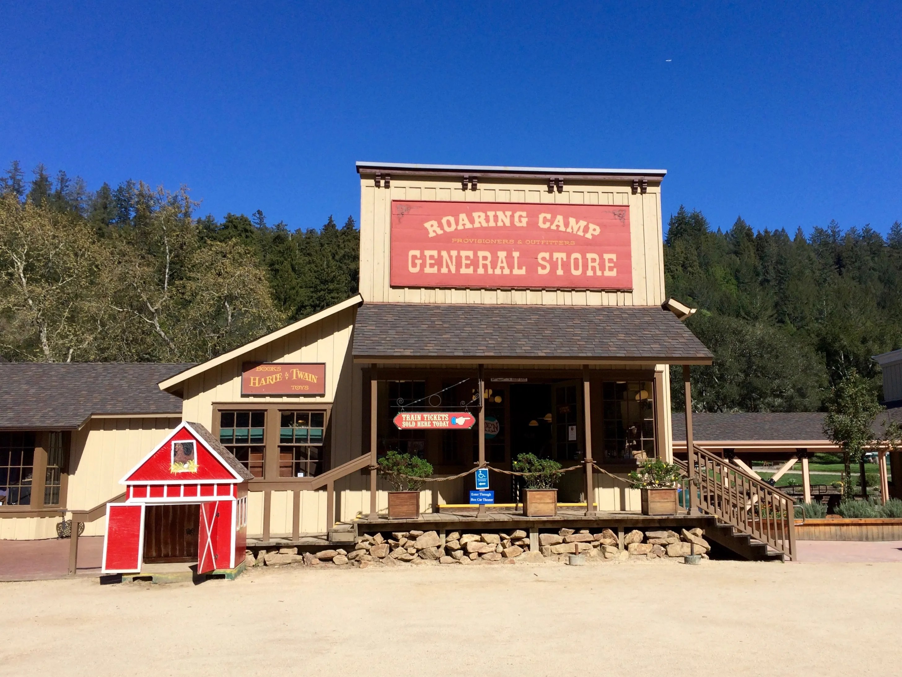Roaring camp General Store - Simple Sojourns
