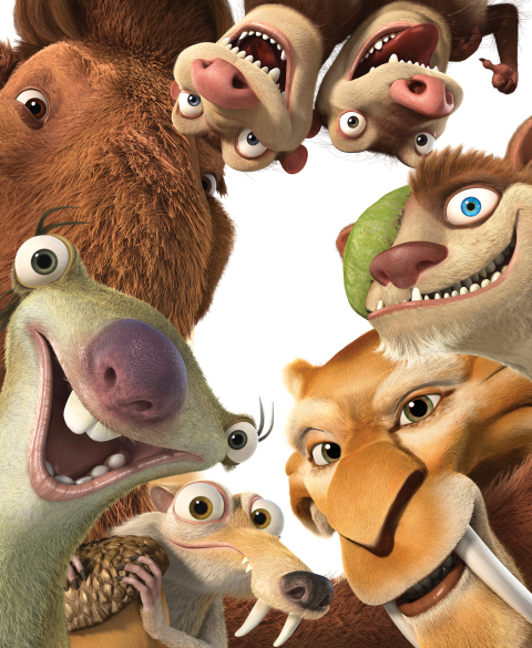 Ice Age: Collision Course Gang - Simple Sojourns