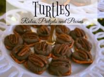 Rolo, Pretze, Pecan Turtles