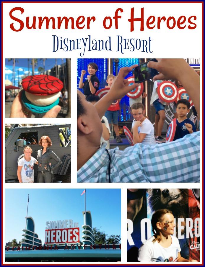 Summer Of Heroes at Disneyland Resort - Simple Sojourns
