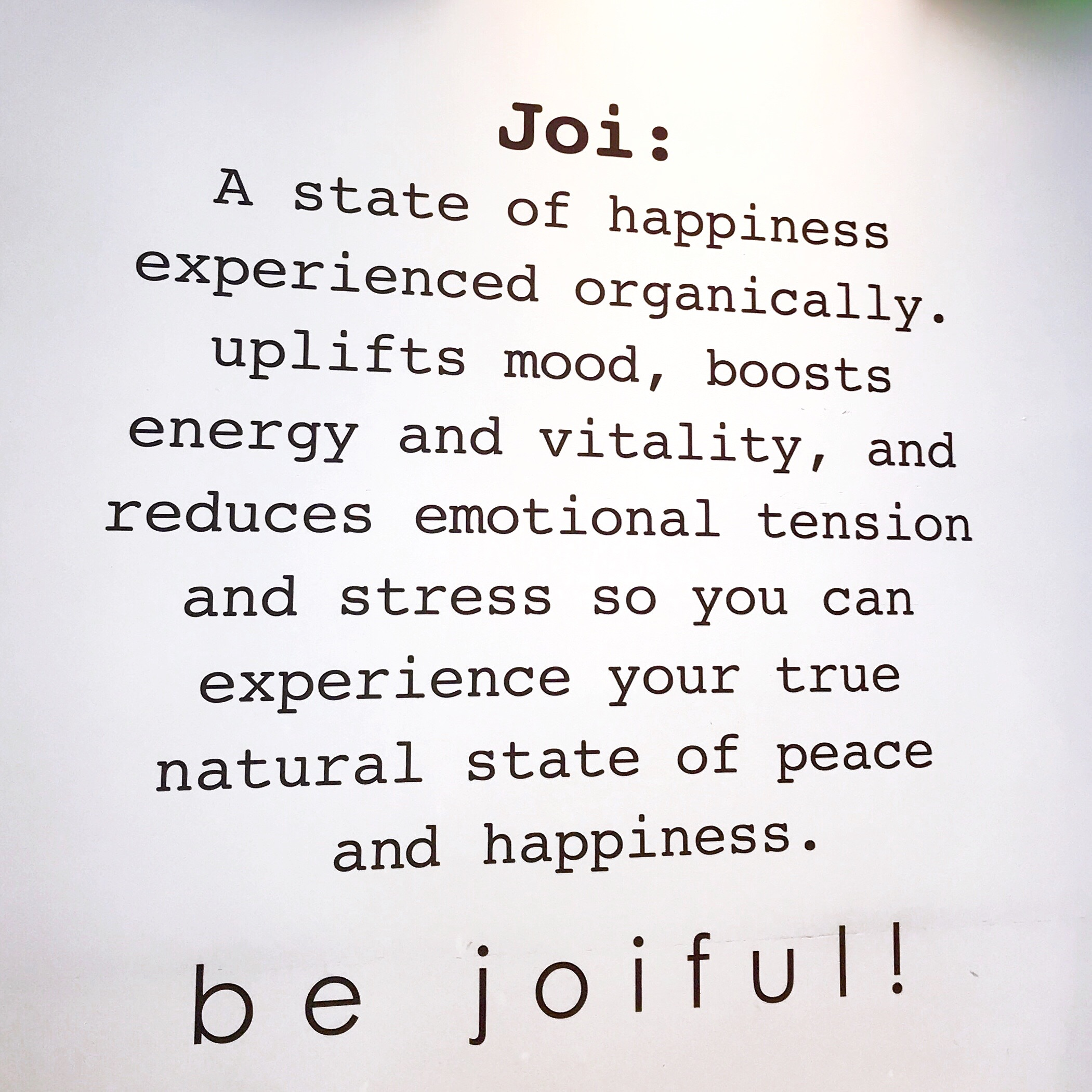 JOi Cafe - Simple Sojourns