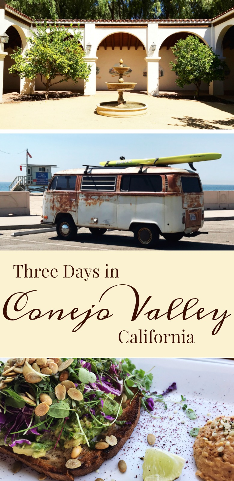 Three Days in Conejo Valley #ad #visitconejovalley #travel #reaganlibrary #zumabeach #homewoodsuites - Simple Sojourns