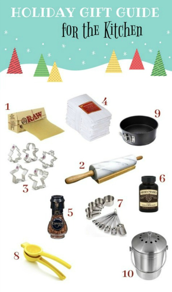 Holiday Gift Guide for the Kitchen - Simple Sojourns