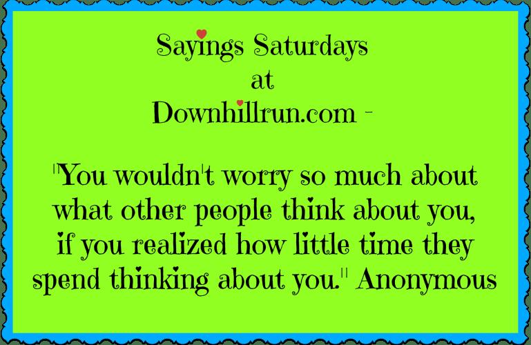 Sayings Saturdays – 9/26/2015