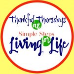 Thankful Thursdays 9/24/2015