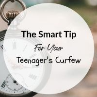 The Smart Tip For Your Teenager's Curfew