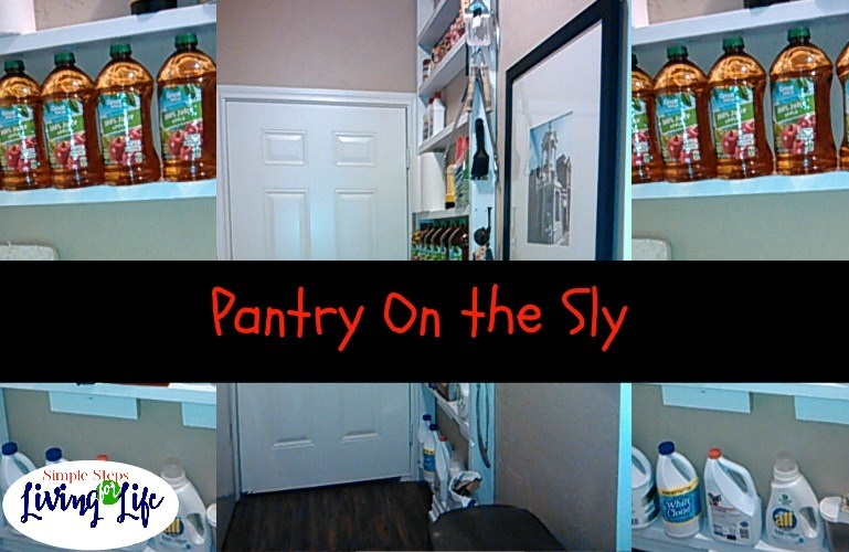 Simplify and Organize – Pantry on the Sly