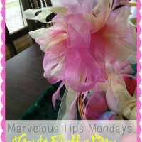 Marvelous Tips Mondays - Fluffing a Bow