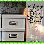 10 Ways to Use Photo Storage Boxes