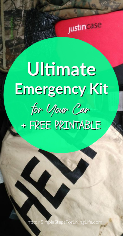 Ultimate Emergency Kit for Your Car FREE PRINTABLE
