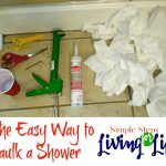 The Easy Way to Caulk a Shower