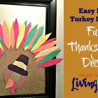 Easy DYI Turkey Mirror: Fun Thanksgiving Decor