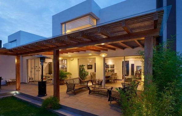 Add elegance to any backyard with a pergola.