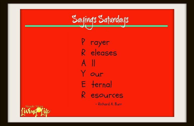 Sayings Saturdays – December 10th