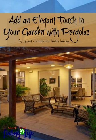 Add elegance to your garden with a pergola.