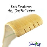 Back Scratcher:  Not Just For Itchiness